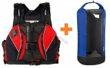 Schwimmweste CINCH Harness + Trockensack WINDOW Volum 60l HIKO gratis