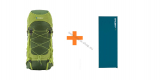 SET Expedition Rucksack RIBON 60 l + Isomatte FUZZY 2,5 cm