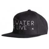 Cap In water we live - schwarz HIKO