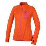 Damen Pullover TARR ZIP L NEW orange