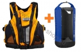 Schwimmweste AQUATIC + Trockensack WINDOW Volum 40l HIKO gratis