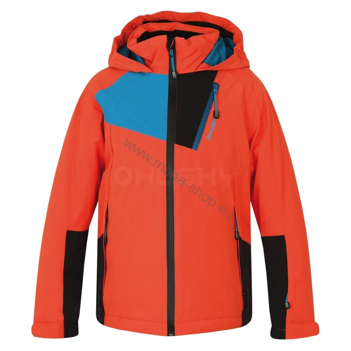 Kinder Skijacke ZAWI JUNIOR orange