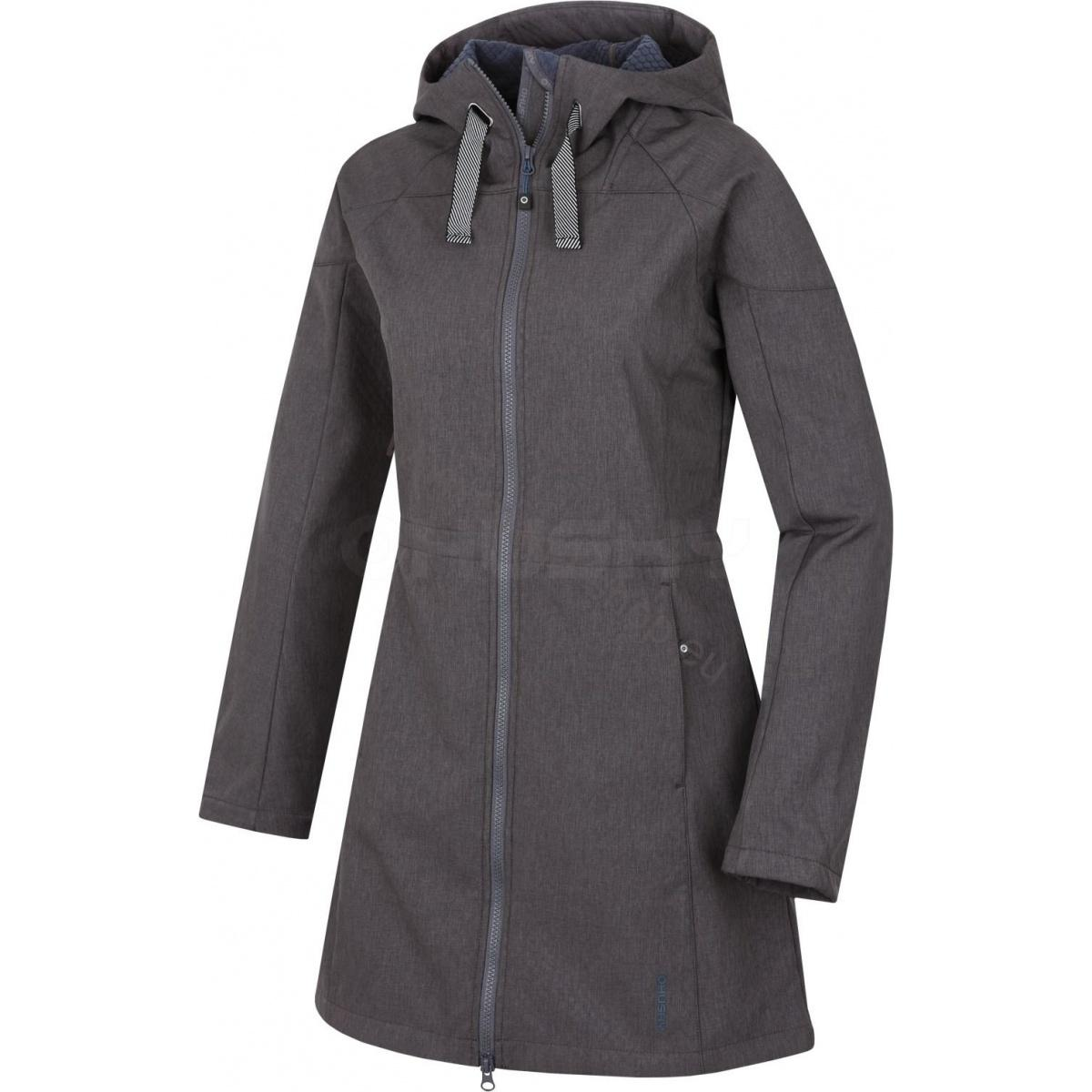 Softshell Mantel SARA NEW grau