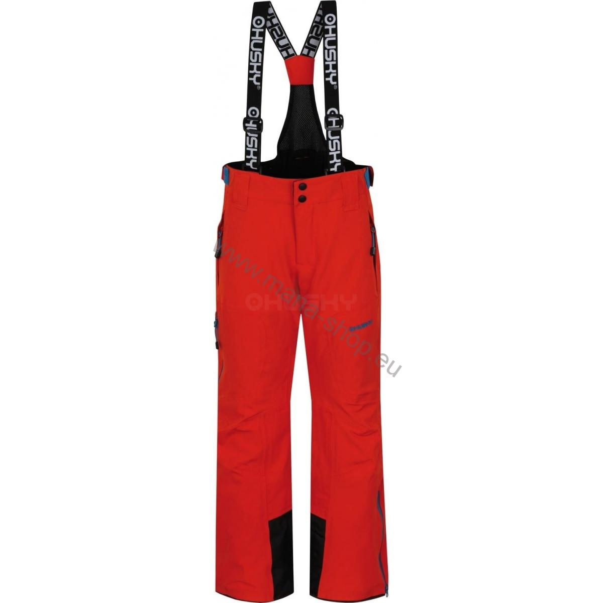 Kinder Skihose ZEUS K orange