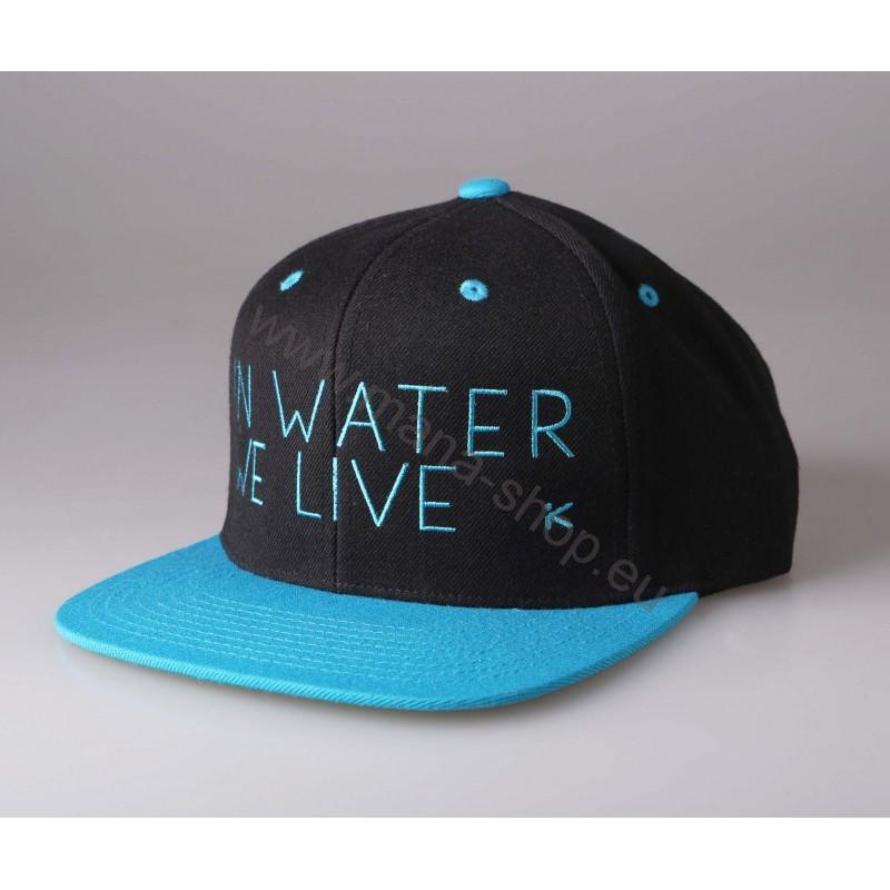 Cap In water we live - blau HIKO