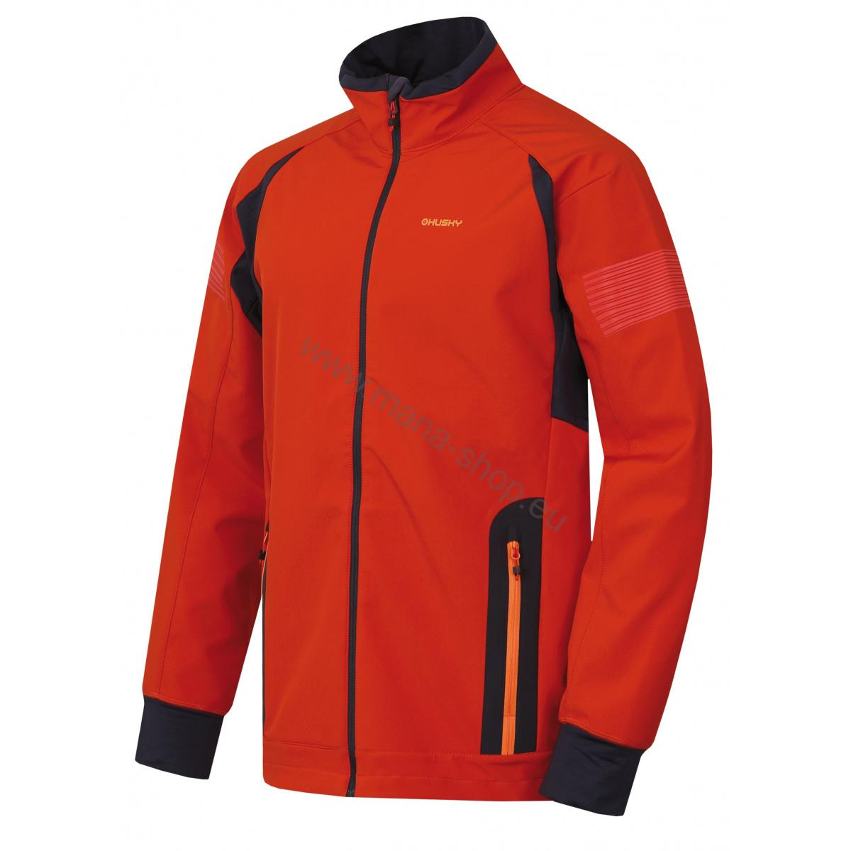 Herren Outdoor Jacke SCOOBY M NEW HUSKY orange
