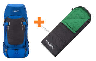 Expedition Rucksack RONY 50 l + Schlafsack GALA 0°C gratis