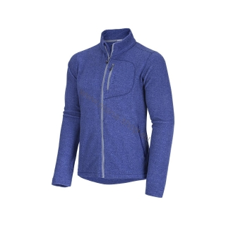 Outdoor fleece Sweater ALEN M blau