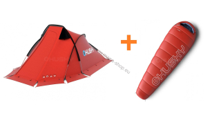 Zelt EXTREME FLAME 2 +  Schlafsack RUBY -14°C