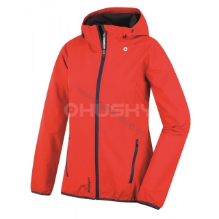 Damen Outdoorjacke SALLY rot
