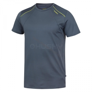 Herren T-Shirt TELLY NEW HUSKY grau/grün