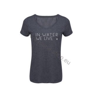 Damen T-shirt In water we live HIKO