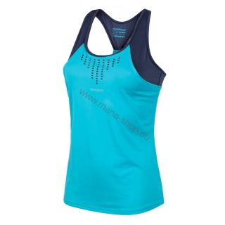 Damen T-Shirt TASTY NEW HUSKY blau
