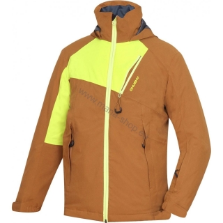Kinder Skijacke ZAWI JUNIOR NEW ocker