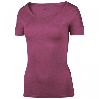 Damen T-Shirt TAIDEN NEW HUSKY lila