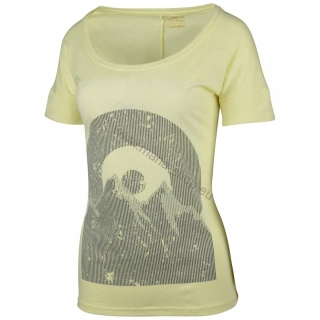 Damen T-Shirt TINGL NEW HUSKY gelb