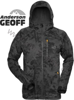Fleece Jacke Hoody 3 Blackleaf Geoff Anderson