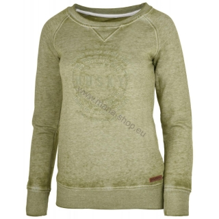 Damen Sweatshirt BENDR NEW HUSKY olive