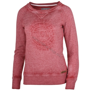 Damen Sweatshirt BENDR NEW HUSKY rot