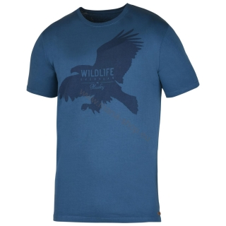Herren T-Shirt Eagle NEW HUSKY blau