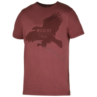Herren T-Shirt Eagle NEW HUSKY rot