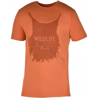 Herren T-Shirt Lynx NEW HUSKY orange