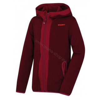 Kinder Pullover ARTIC ZIP KIDS M lila