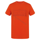 Herren T-Shirt TINGL NEW HUSKY orange
